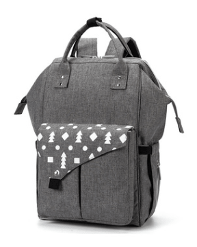 mommy-reflective-diaper-bag-pine-grey.