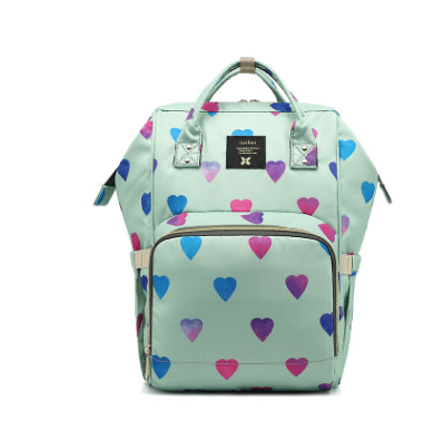 uniheart-baby-travel-bag-light-green