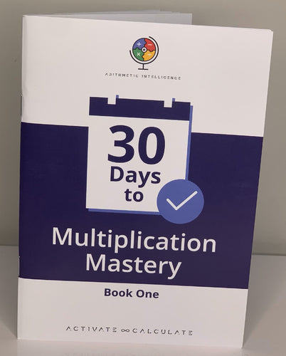 Multiplication workbook