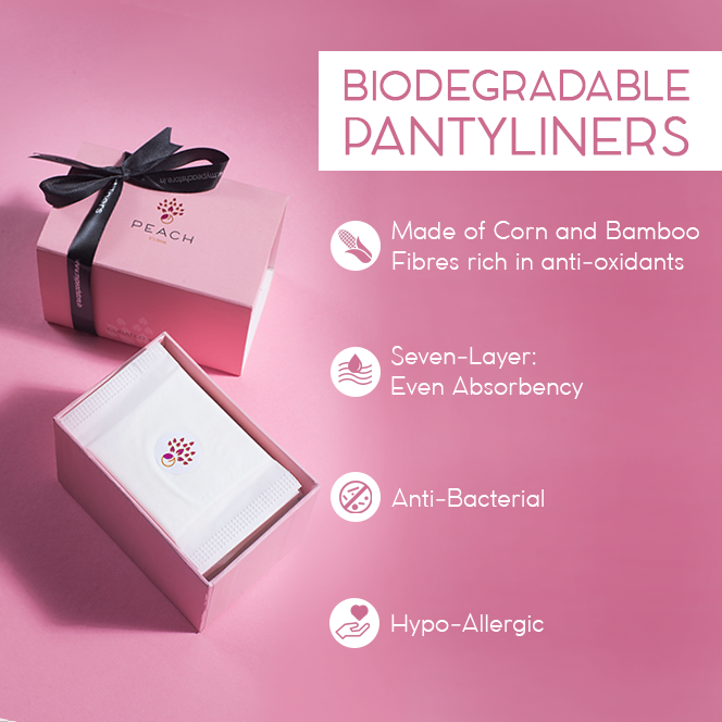 Biodegradable Panty Liners