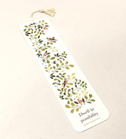 Dwell in Possibility Bookmark