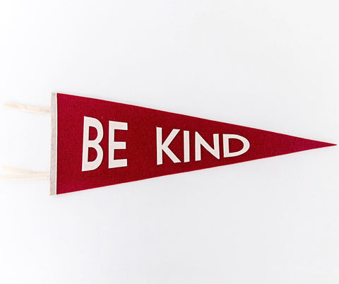 Positive Pennant Decoration