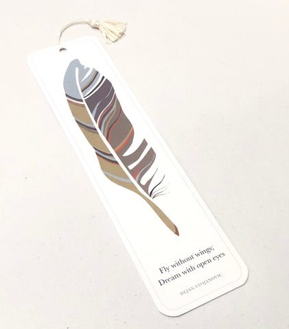 Fly Without Wings Bookmark