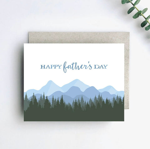 Outdoor Dad Happy Father's Day Card