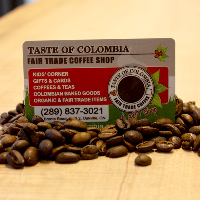 Taste of Colombia - Gift card
