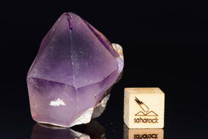 Terminated AMETHYST 33x26mm from Morocco