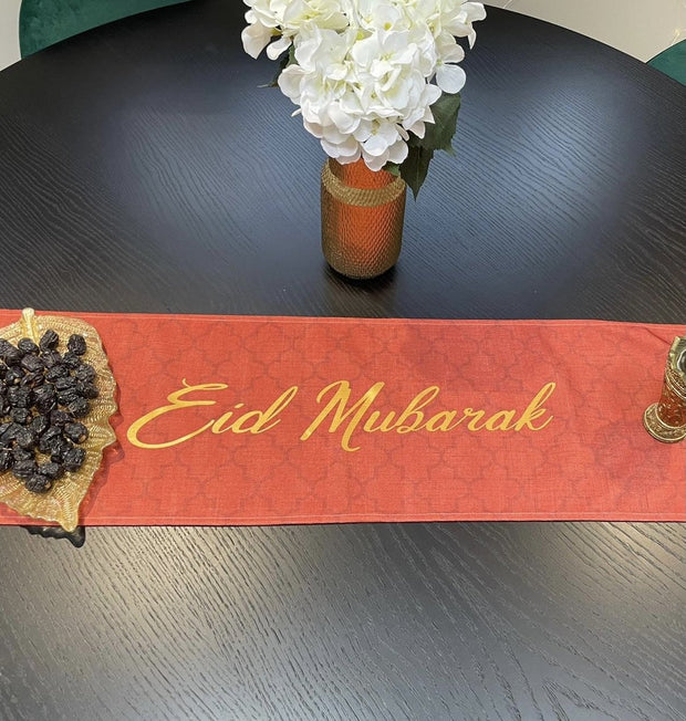 Terra Cotta Lights - Eid Mubarak in Gold Foil