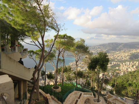 Views from Harissa, Lebanon