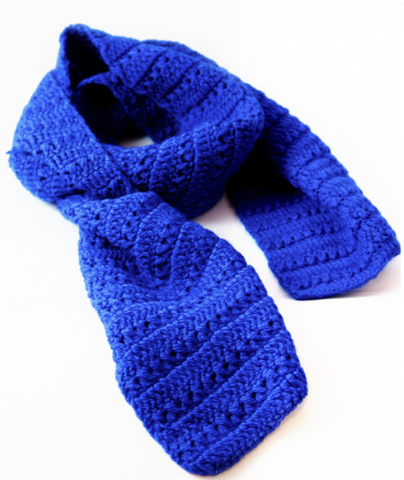 BigCozy Essential Scarf in Electric Blue