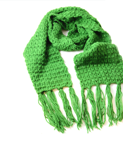 BigCozy Essential Scarf in Green
