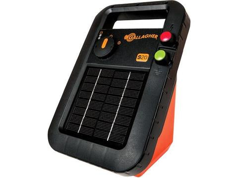 Gallagher Solargerät S20 Weidezaungerät - inkl. Batterie