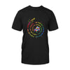 Autism Playing Piano Feel World Special Way Colors Classic T-shirt