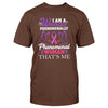 Cystic Fibrosis Awareness i'm a woman phenomenally Classic T-shirt