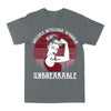 Multiple Myeloma Awareness Warrior Unbreakable Retro Classic T-shirt