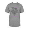 Epilepsy Awareness Heart Classic T-shirt
