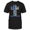 Cross Prostate Cancer Awareness Classic T-shirt