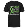 Kidney Disease Awareness I Wear Green For Someone Classic T-shirt