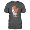Her Fight Is My Fight Leukemia Awareness Classic T-shirt