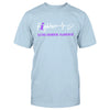 Fighter Heart Beat Eating Disorders Awareness Classic T-shirt