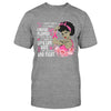 Breast Cancer Awareness Black Girl A Journey I Never Planned Classic T-shirt