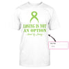 Losing Is Not An Option Custom Name Classic T-shirt, Lyme Disease Awareness Month Shirt