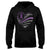 Heart-shaped Flag Chiari Awareness Hoodie