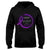 Never Give Up Fighting Chiari Awareness Hoodie