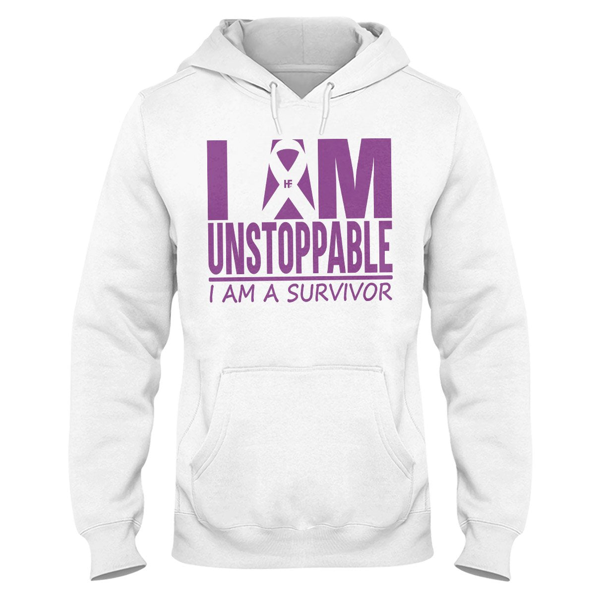 I Am Unstoppable Chiari Awareness Hoodie