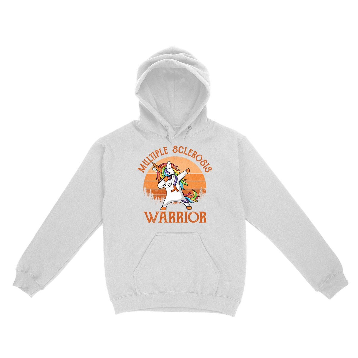 Retro Unicorn MS Warrior Hoodie, MS Awareness Month Shirt, Multiple Sclerosis Awareness Gifts