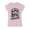 Don't Mess With Nanasaurus Autism Ladies T-shirt