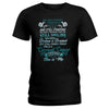 She Is Me Cervical Cancer Warrior Ladies T-shirt