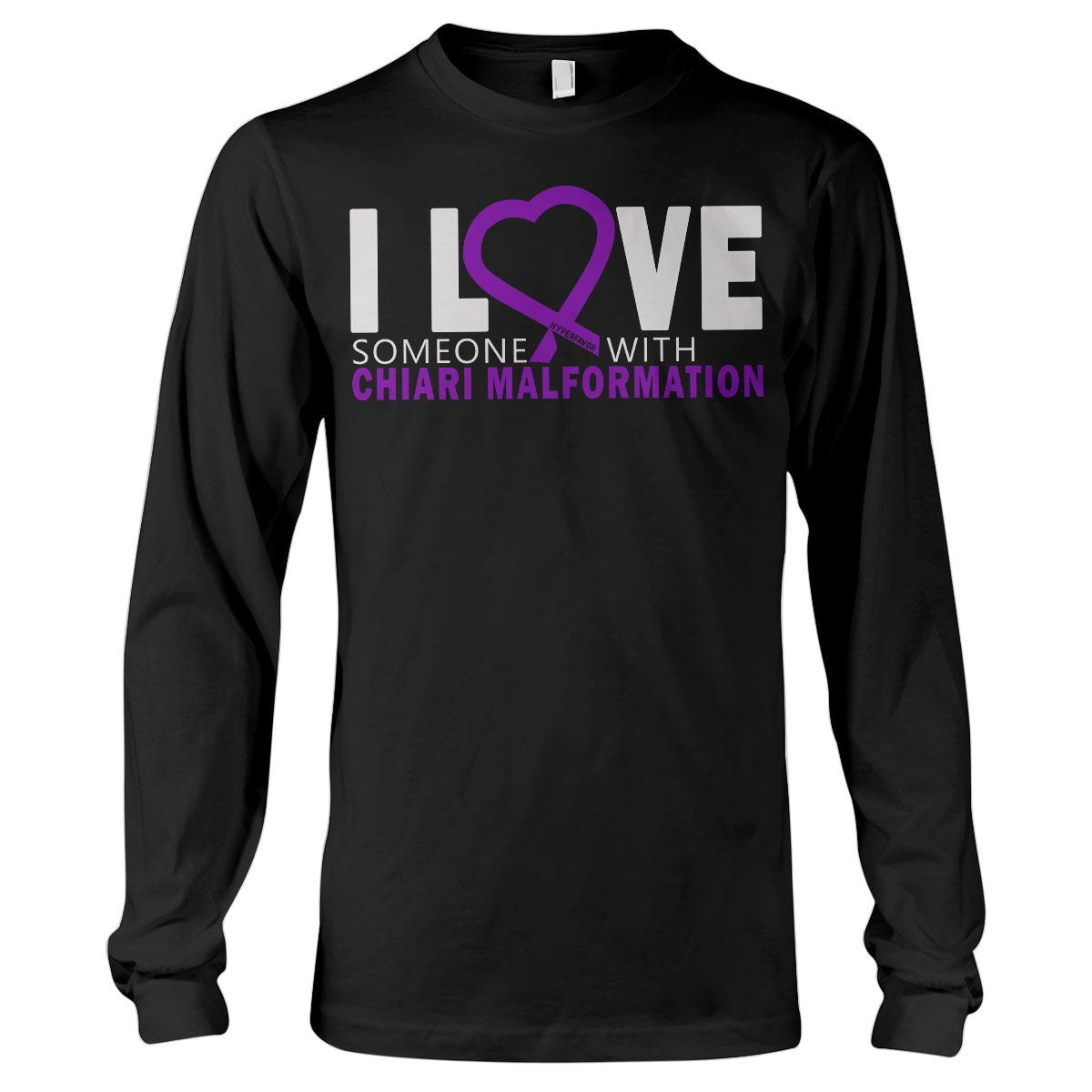 I Love Someone With Chiari Malformation Long Sleeve T-Shirt