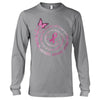 The Strongest People Breast Cancer Awareness Long Sleeve T-Shirt