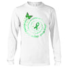 The Strongest People Depression Awareness Long Sleeve T-Shirt