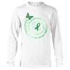 The Strongest People Scoliosis Awareness Long Sleeve T-Shirt