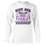 White Chiari Awareness Not All Wounds Are Visible Long Sleeve T-Shirt