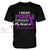 Overdose Awareness Custom Unisex V-neck T-shirt