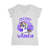 Epilepsy Awareness Warrior Unicorn Retro Women V-neck T-shirt