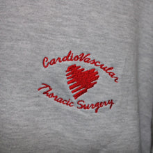 Load image into Gallery viewer, Grey Heart Crewneck L