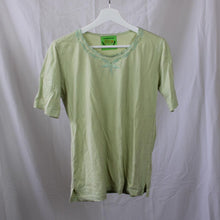 Load image into Gallery viewer, Green Collared Shirt L
