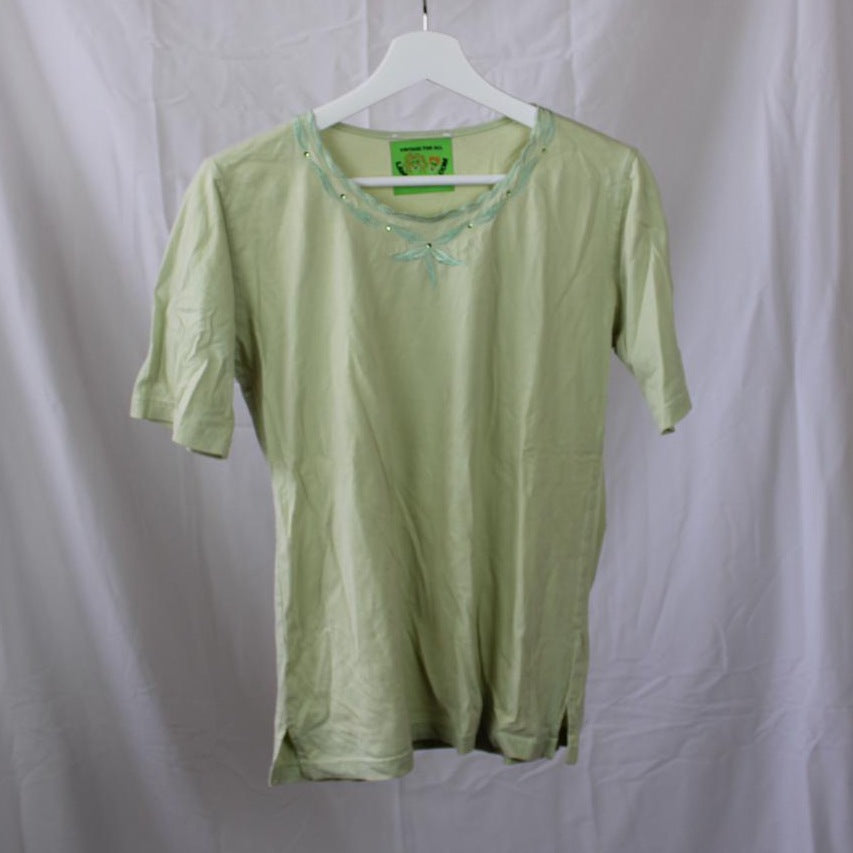 Green Collared Shirt L