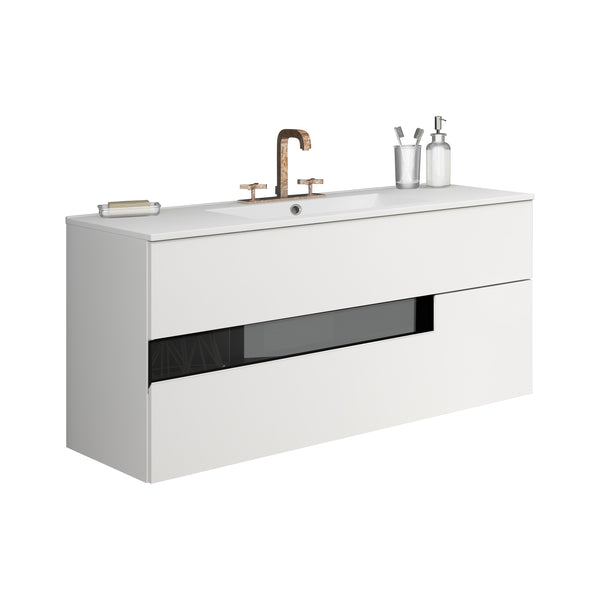 "Vision Vanity 40"" Black and White"