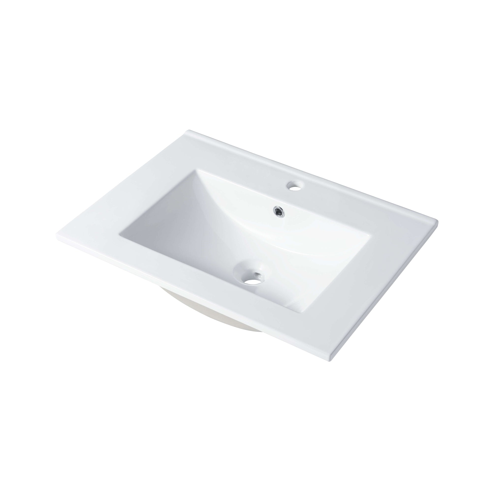 Ceramic Basin 24″ X 18″ Top-Mount Rectangular