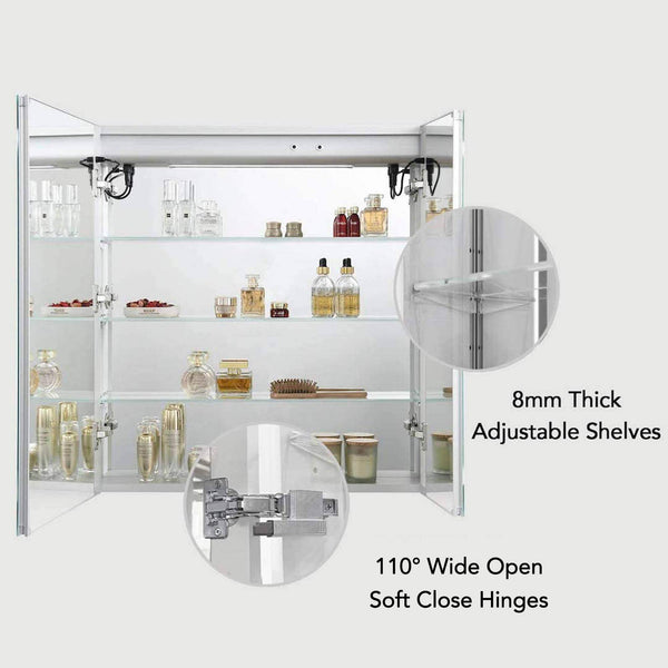 Vega – 30 Inches LED Medicine Cabinet