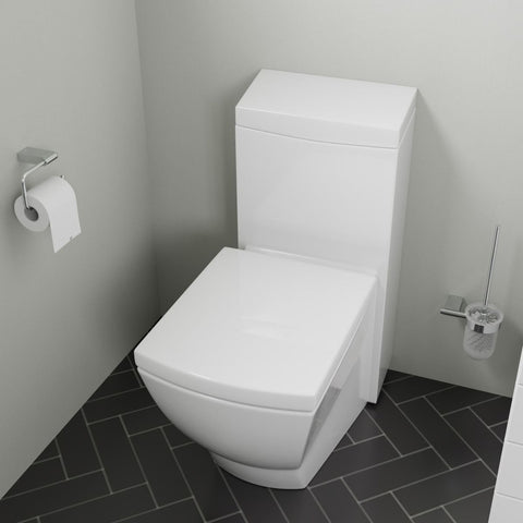 EAGO Modern One Piece High Efficiency Low Flush Eco Friendly Toilet