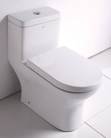 EAGO One Piece Dual High Efficiency Low Flush Eco-Friendly Toilet