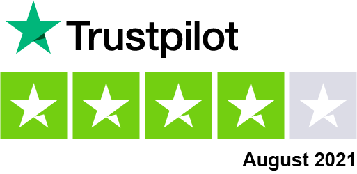 Rated 4.2 out of 5 stars on Trustpilot