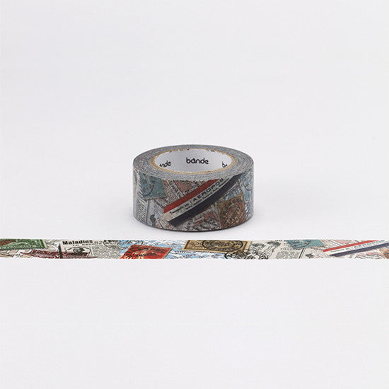 Collage Stamp Washi Masking Tape