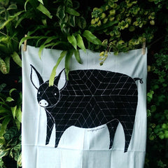 Tea towels by Gingiber