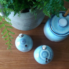 Salt & Pepper Shakers by Julia Smith Ceramics